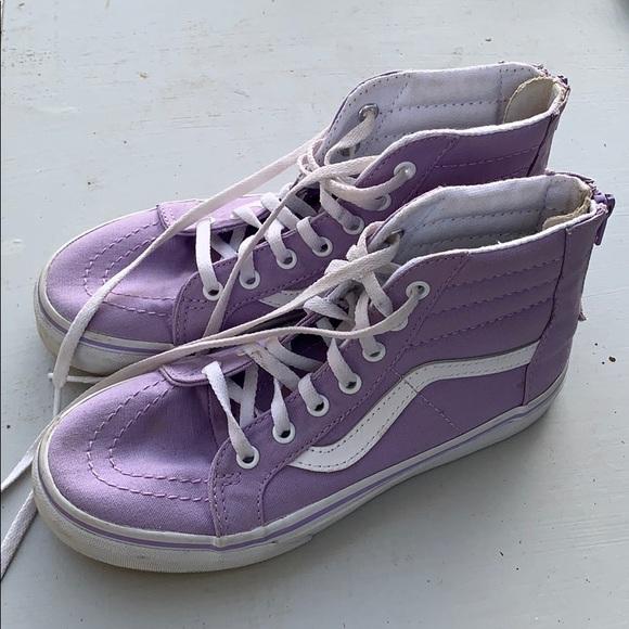 Vans Other - Girls lavender sk8-hi's
